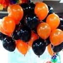 Гелиевые шары на Хэллоуин