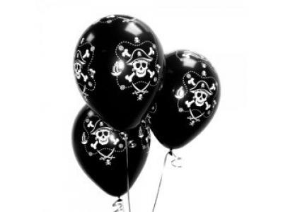 """Гелиевые шары """"Пират Весёлый Роджер"""""""