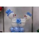 Снеговички с шариками