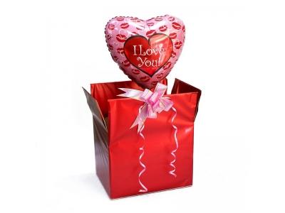 АКЦИЯ! Коробка поздравительная для влюбленных!