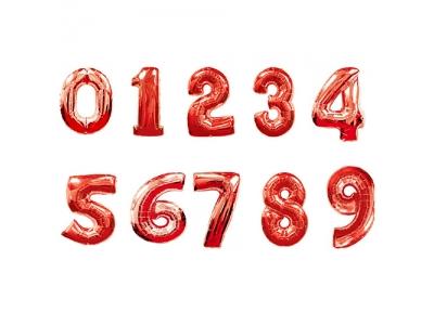 Цифры Красная