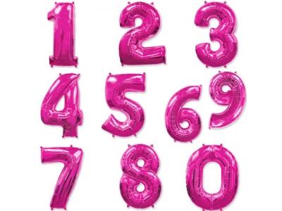 Цифры Фуксия